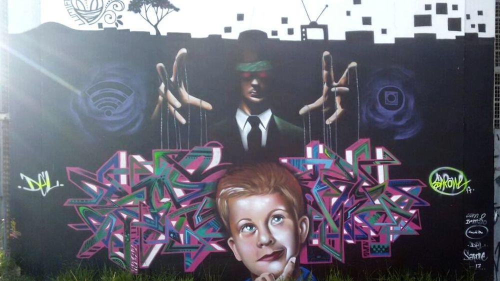 Arte em Sampa Graffiti Art Grafitti Grafiteéarte Grafitesp First Eyeem Photo