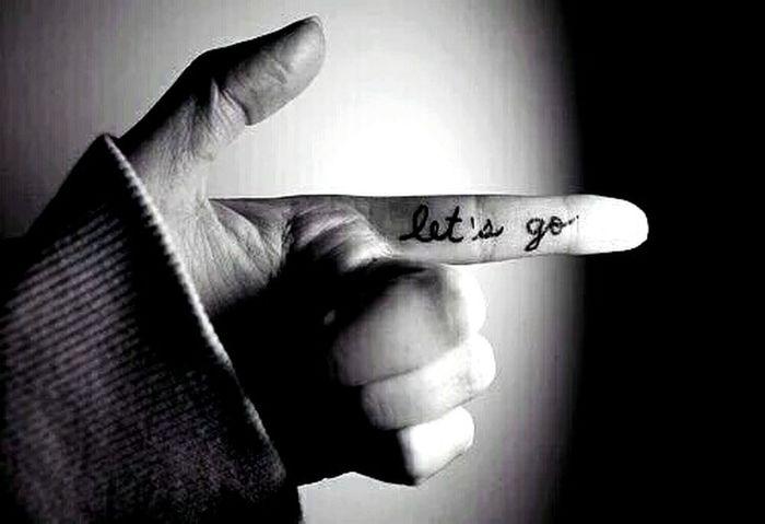 Let It Go ❤ Bye & Good Nite 🌎🌃🌜🌘