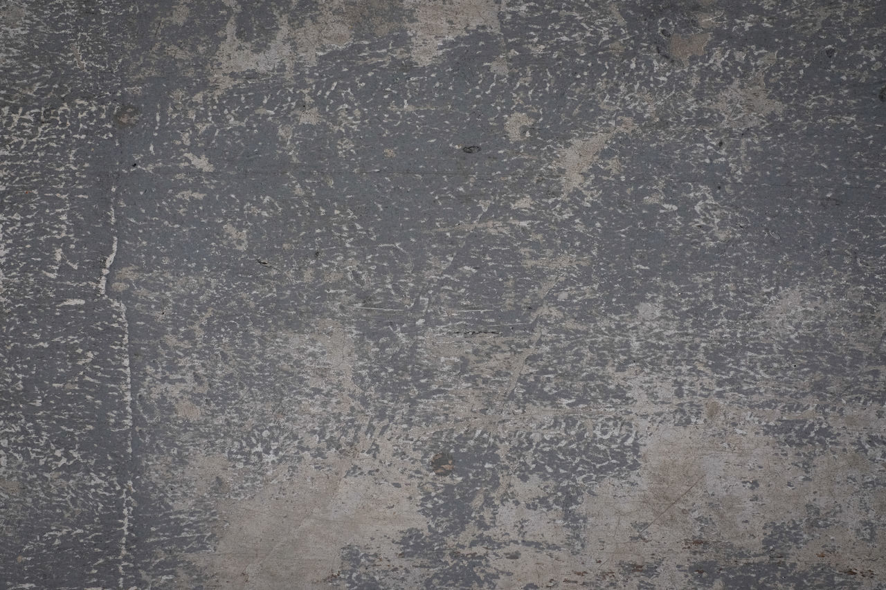 backgrounds, textured, full frame, gray, pattern, no people, wall - building feature, copy space, abstract, textured effect, architecture, old, built structure, weathered, metal, rough, scratched, close-up, dirty, indoors, flooring, concrete, silver colored, deterioration, abstract backgrounds, sheet metal, blank