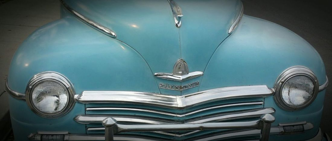 Car Collection The EyeEm Facebook Cover Challenge Showcase: January This Week On Eyeem Saw This On My Walk Love Old Cars  Robin Egg Blue Color Antique Car EyeEm Gallery Plymouth