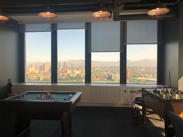 New York City Office EyeEm Selects Window Indoors  Architecture Table No People Built Structure Lighting Equipment Luxury Glass - Material Absence Building Domestic Room Office Building Exterior Nature Seat Day Skyscraper Cityscape Transparent City
