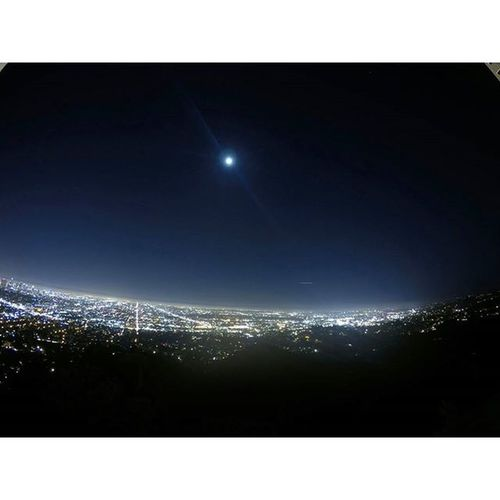 Tonight's view from the Griffithobservatory Gorprohero4 Gopro