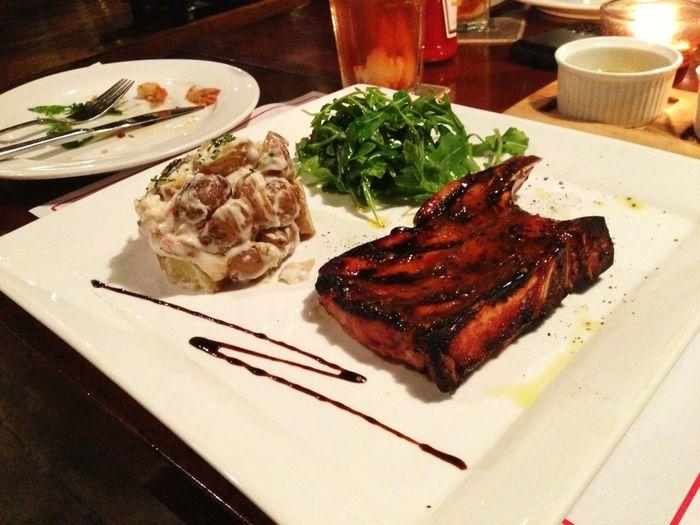 Honey Glazed Pork-chop