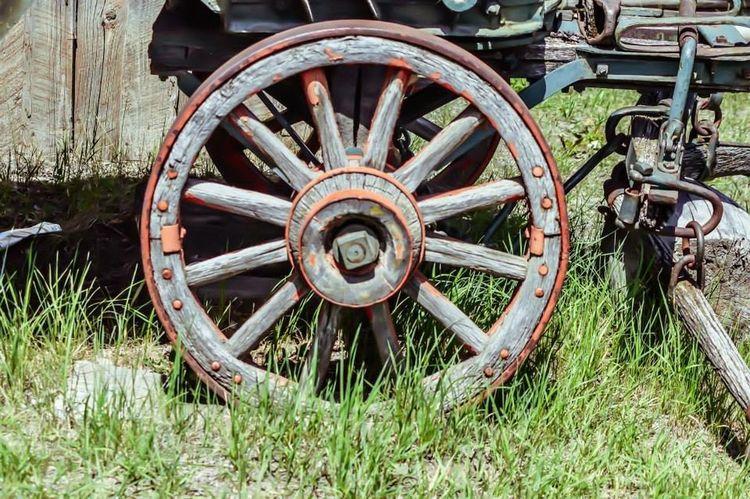 Pioneer Antique Wagonwheel