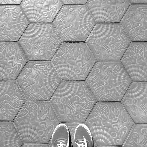 Walking Around Barcelona Floortraits