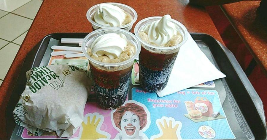 Mcdonalds Mlovingit Burger Outingwithfriends Cokefloat Foodphotography Food♡ Lovelovelove