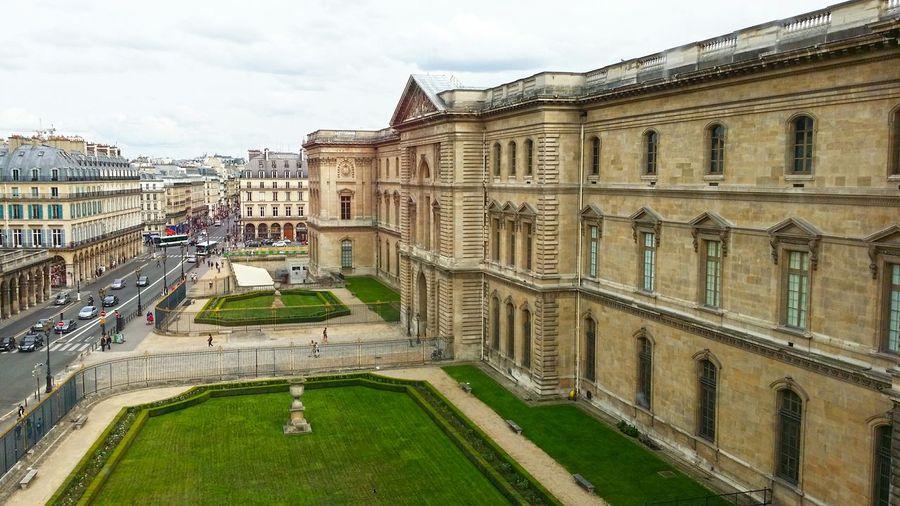 Paris ❤ Paris, France  Musée Du Louvre Cityscape I Love Paris Architecture_collection Amazing View from window at Louvre Vacation Travel Photography