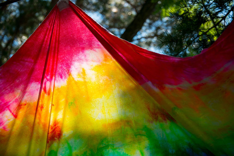 Cloth And Color And Light Summer Light Vivid Colours  Cloth Sunshade 布と色と光と 色彩