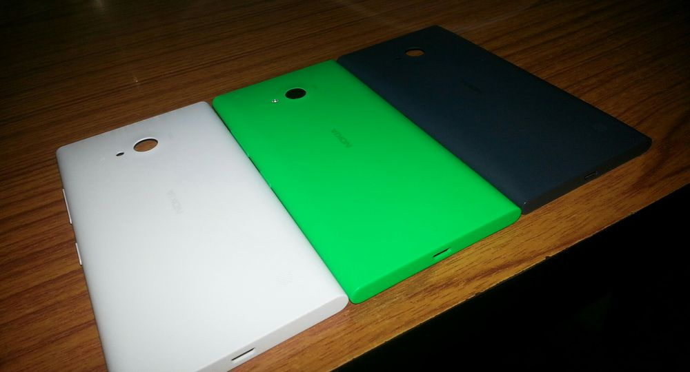 Because having one color is too boring 😃 Nokialumia730 Nokia Lumia 730