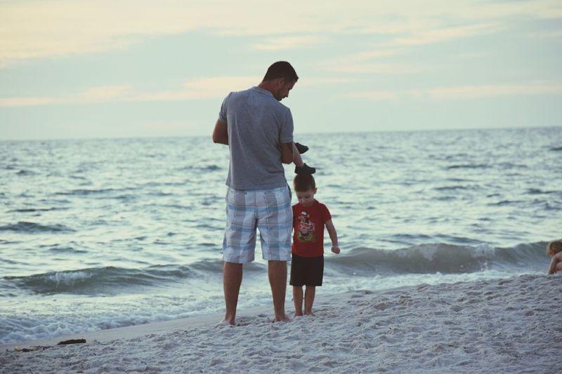 Fatherandsonmoments Beach Naplesflorida