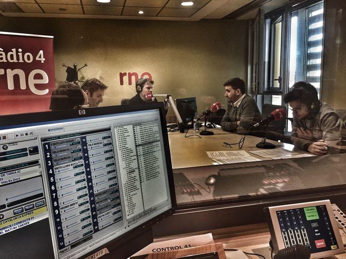 Barcelona Catalunya News Radio Station Radio Studio