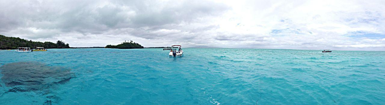 BoraBora Island Honeymoon Panorama #HR2014