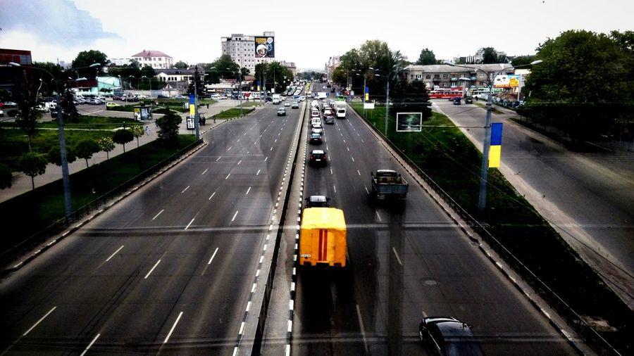 Kharkiv Ukraine Road Cars City First Eyeem Photo