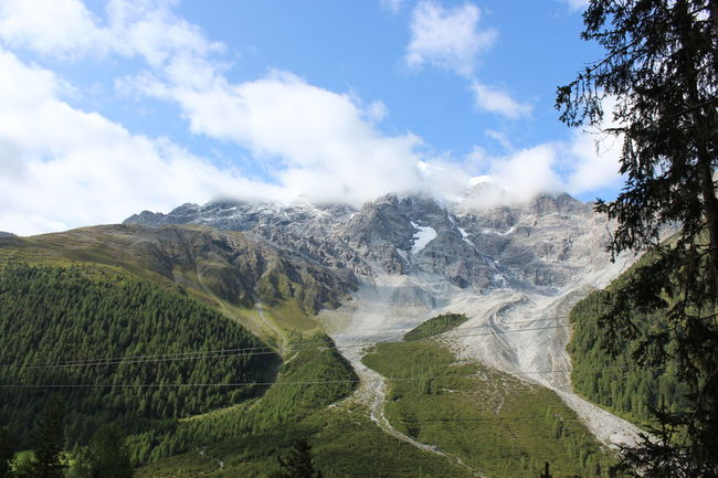 EyeEm Selects Italia Nature Outdoors Landscape No People Cloud - Sky Ortler Mountains And Sky Mountain