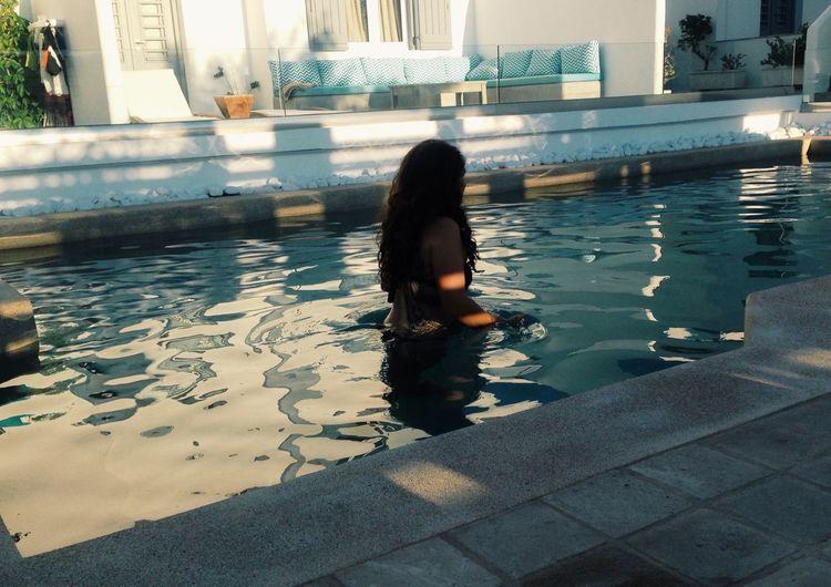 Paros, Greece. Paros Greece Island Europe Travel Summer Swimming Swimmingpool