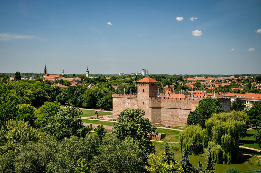 Hungary Architecture Beauty In Nature Building Exterior Built Structure Day Fortress Landscape Nature No People Outdoors Sky Tourism Tree