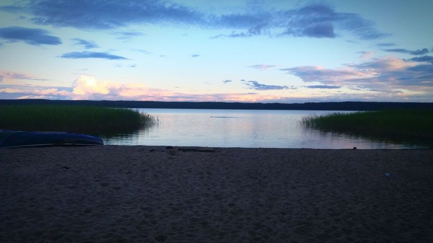 Evening at the lake in Losevo, Russia. Water Sky Beauty In Nature Nature Lake Travel Destinations Scenics Sunset Lost In The Landscape Natur Nature Camp Zeltlager Losevo Sportjugend EyeEmNewHere Sportjugendreise Sportjugend Hessen No People Russland Summer Outdoors Sommer Россия Russia