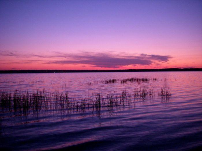 Awe Beauty In Nature Calm Cloud Cloud - Sky Dramatic Sky Dusk Idyllic Lake Majestic Nature Non-urban Scene Ocean Orange Color Reflection Romantic Sky Scenics Sea Silhouette Sky Sunset Tranquil Scene Tranquility Vibrant Color Water