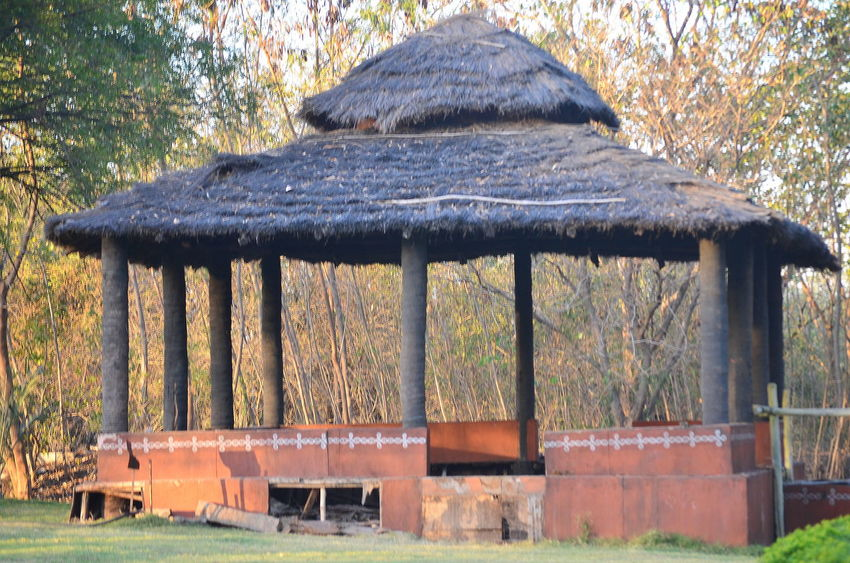 Architecture Branch Building Exterior Built Structure House Hut Old Outdoors Park - Man Made Space Sit Out Sitout Tree Wood - Material Wooden