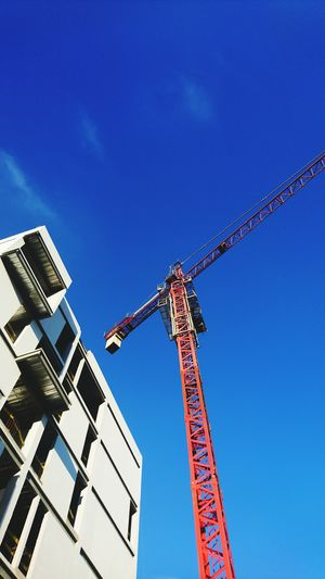 Construcciones  Architecture Construction Site Clear Sky Sky Construction Construccion Worker