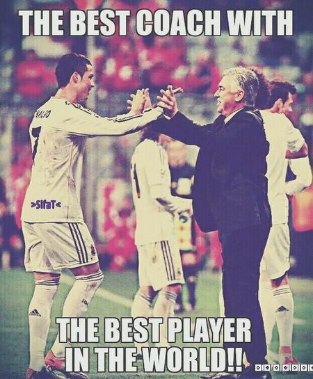 Best Coach With The Best Player  <3