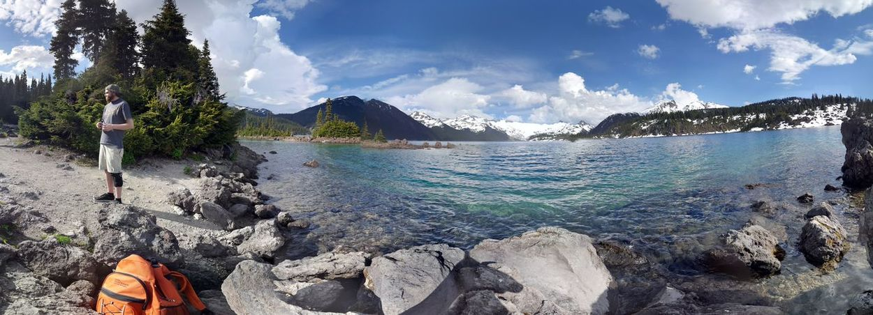 crazy island high in the mountains Enjoying Life Nature Beautiful Sunny Day Relaxing Peaceful Beauty In Nature Outdoor Forest Hike Hanging Out Landscape Blue Water Lake Check This Out Mountains Sick Spot Mountain No Edit Garibaldi Lake Battleshipisland