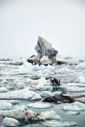 monument Jökulsárlón Glaciar Lagoon Travel Iceland Jökulsárlón Photo Landscape S Nature Snow Water Sea Cold Temperature Snow Polar Climate Beach Glacier Winter Frozen Natural Landmark Frozen Water