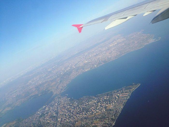 Istanbul Sky Flight Flying High Fly Away BacktoIstanbul Gotoizmir