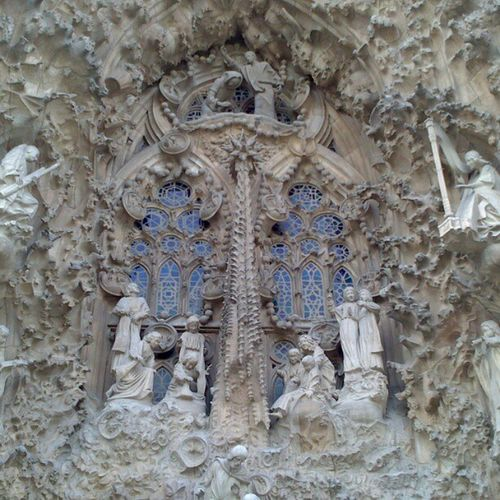 La Sagrada Familia, exceptionnelle basilique...