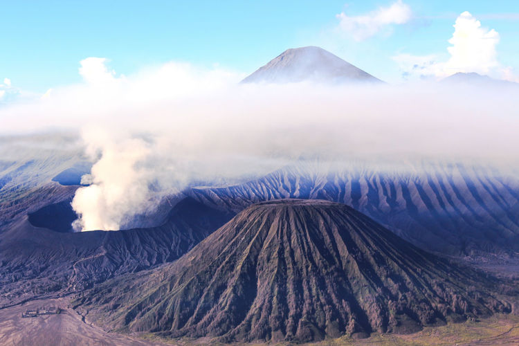 Scenic View Of Mount Bromo