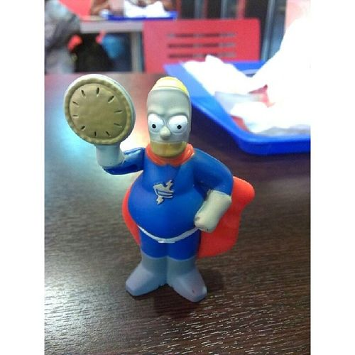 Человек пирог Homer Homersimpson Simpsons Pieman burgerking
