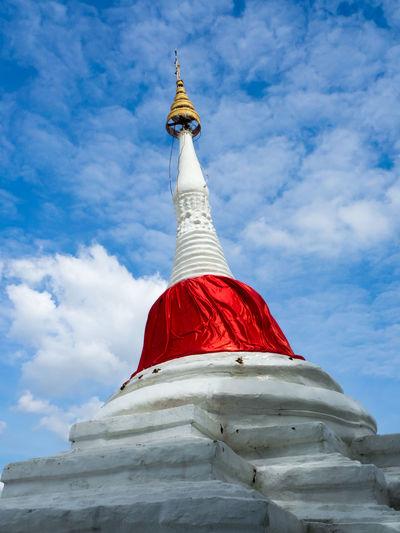 Pagoda Thailand Thai Pakkred Nonthaburi Travel Religion Temple Buddha Buddhism Old Building