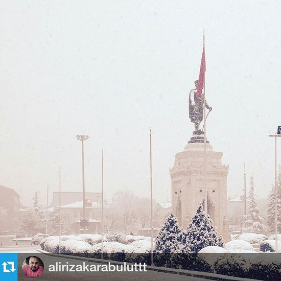Foto :@alirizakarabuluttt ・・・ ComeSeeKonya Konya Anıt atatürk ata meram ilkkar