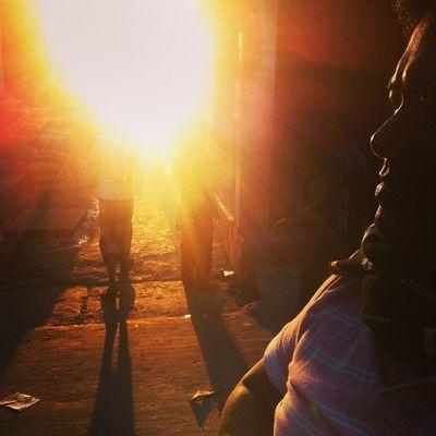 Sun Ray Light Shadow Winter Evening Street Chaktai Chittagong Instagram The Street Photographer - 2017 EyeEm Awards
