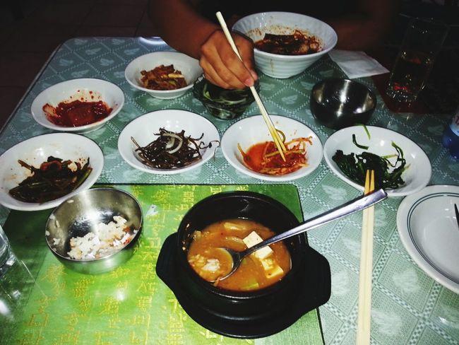 Mealtime Enjoying Life