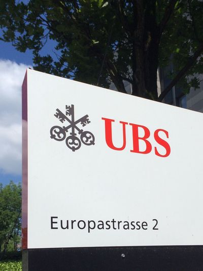 Ubs Investment Bank Global Wealth Management & Business Banking Corporate Center Europastrasse IPhone 5S IPhoneography