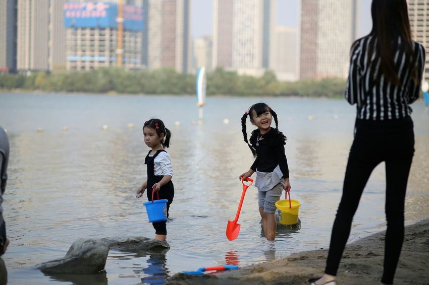 The Purist (no Edit, No Filter) Check This Out Relaxing Beach Life Is A Beach Girl Little Girl Children Family Anhui,China