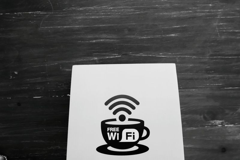 Coffee Coffee Time Coffee Cup Wi Fi No People Day Indoors  Close-up