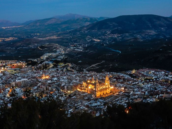 Jaén en mi corazón. Cityscape Night City Sky Illuminated Aerial View Outdoors Building Exterior Built Structure Scenics No People Mountain Tree Architecture Nature City Life Embrace Urban Life Traveling Travel EyeEm Best Shots EyeEm Gallery EyeEmBestPicsTravel Photography Travel Destinations Skyline