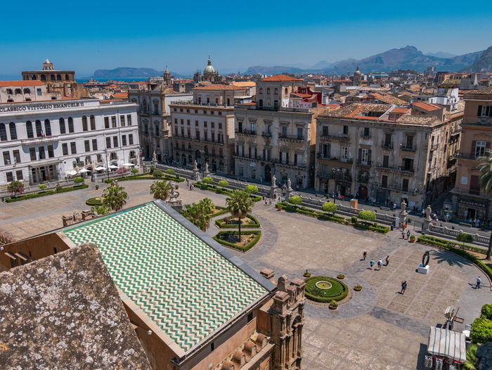 City Cityscape Clear Sky EyeEm Best Shots EyeEmNewHere NewToEyeEm Palermo Sicilia Sicily Travel Travel Photography View Architecture Blue Sky Built Structure High Angle View House Italy Scenery Scenics Sky Sun Sunshine Travel Destinations View From Above