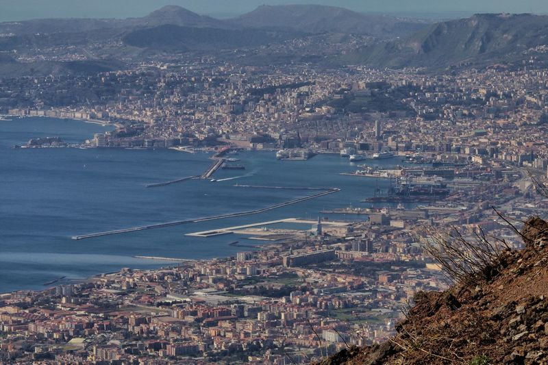Golfo Di Napoli Mediterranean  Naples Naples, Italy Pompéi Sightseeing Vesuvio Campania Sea And Sky Volcano