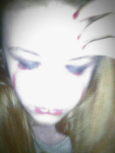 Crying ghost Bloodtears Ghost Portrait Deadgirl Close-up Horror Horror Portrait