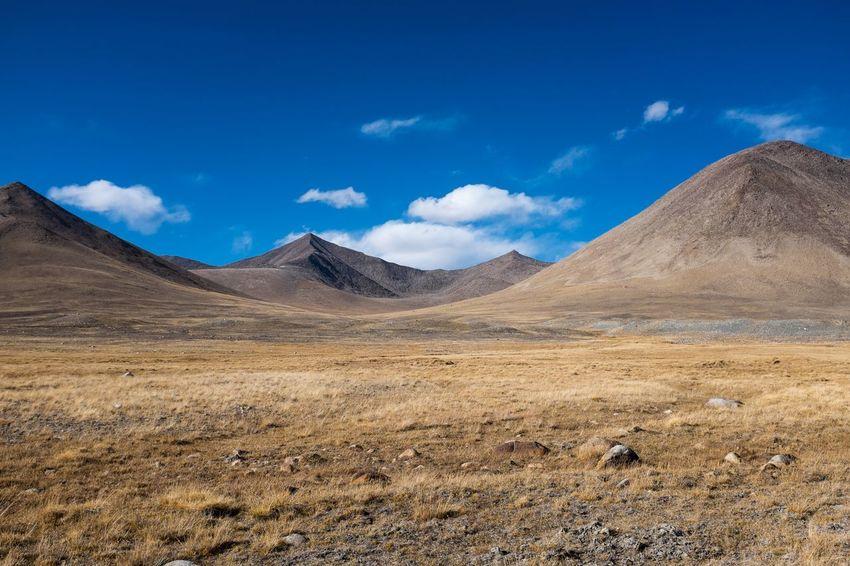 Zorkul, Tajikistan. Semi-arid Outdoors Beauty In Nature No People Mountain Range Environment Nature Landscape Land Scenics - Nature Sky Mountain Cloud - Sky