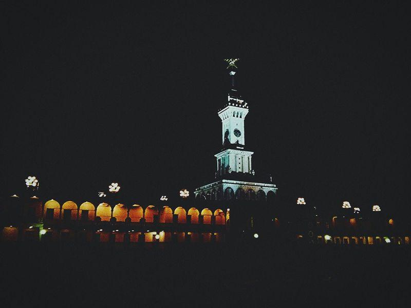 вечер Северный речной вокзал порт Photography