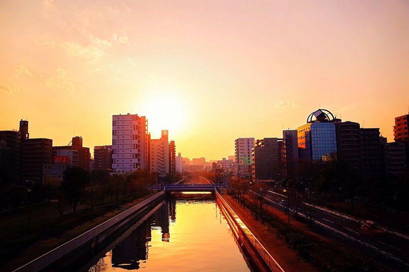 今日は暖かな一日でしたね。 Sunset Time To Reflect River EyeEm Best Shots - Sunsets + Sunrise Everyday Joy