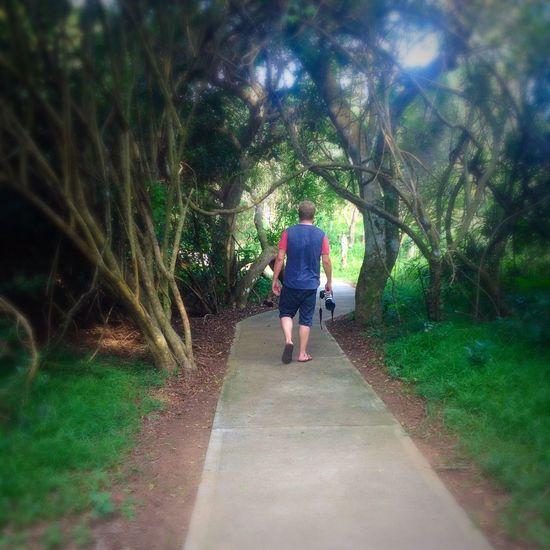 Walking Around Taking Photos Nature Reserve Saint Lucia KZN St Lucia Kzn South Africa
