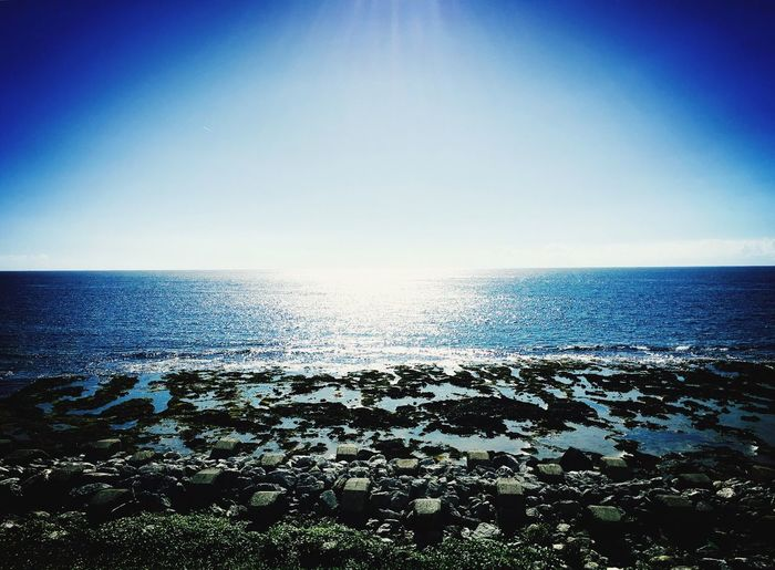 The sea under the sun.