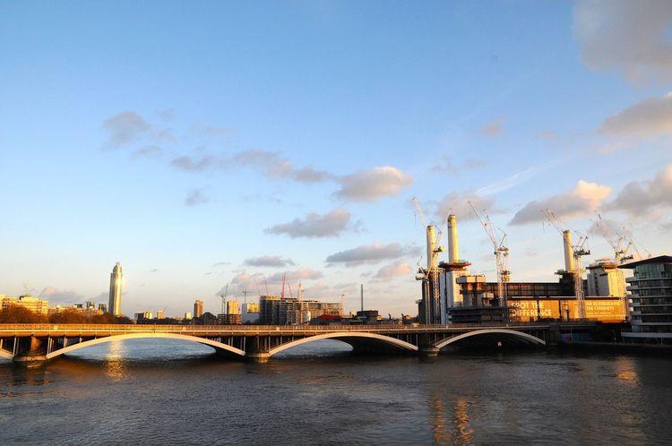 Battersea Power Station Pink Floyd Bridge Power Station