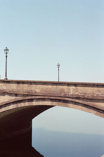 'Blocks' -- B 35mm Film Arno  Canon AE-1 Firenze Kodak River Arno Travel Arch Bridge Architecture Blue Bridge Connection Copy Space Film Photography Filmisnotdead Florence Ideal Kodak Portra Minimalism Nature No People Perfect Water