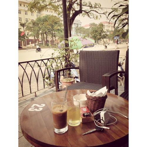 Trời đẹp như này ko đi cafe sao được 😆😆😆 @fotor_apps Fotor Fotorapp Cafe Thaibinhcity timesSquare coffee